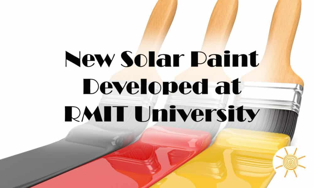 Solar Paint: New Source for Clean Energy?
