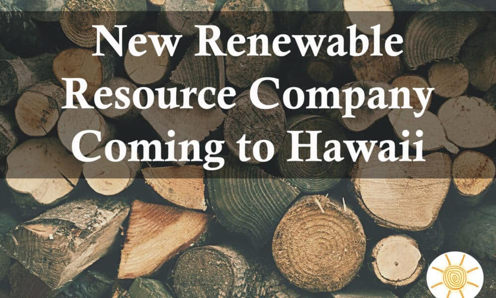 Colorado Renewable Company Coming to Hawaii